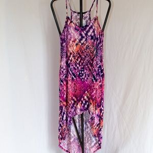 NWT Forever 21 High Low Racerback Dress Size Large